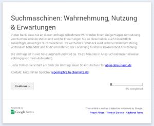 Suchmaschinen: Wahrnehmung, Nutzung & Erwartungen