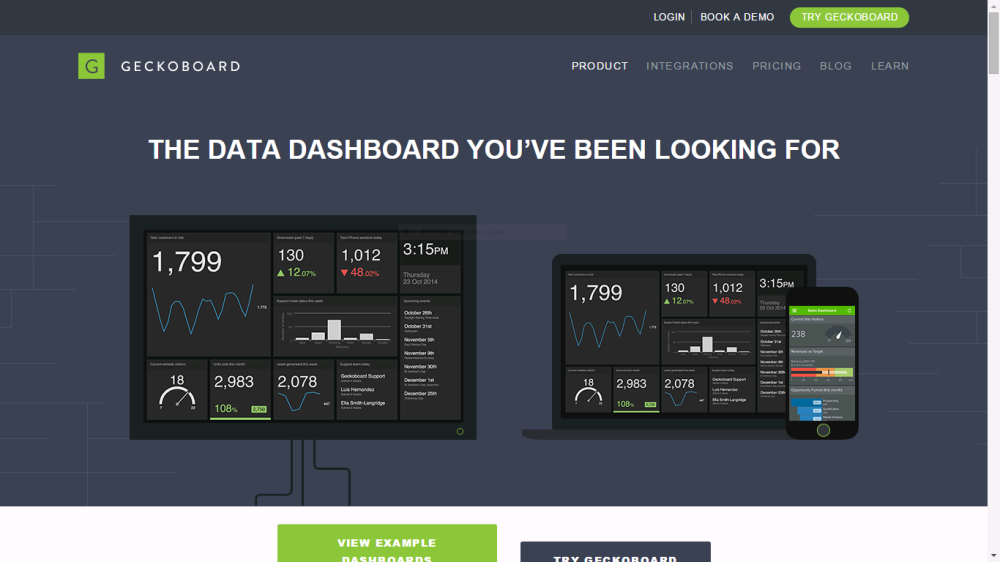 What 'bout some fancy dashboards for ya? Power BI vs. Geckoboard (2/2)
