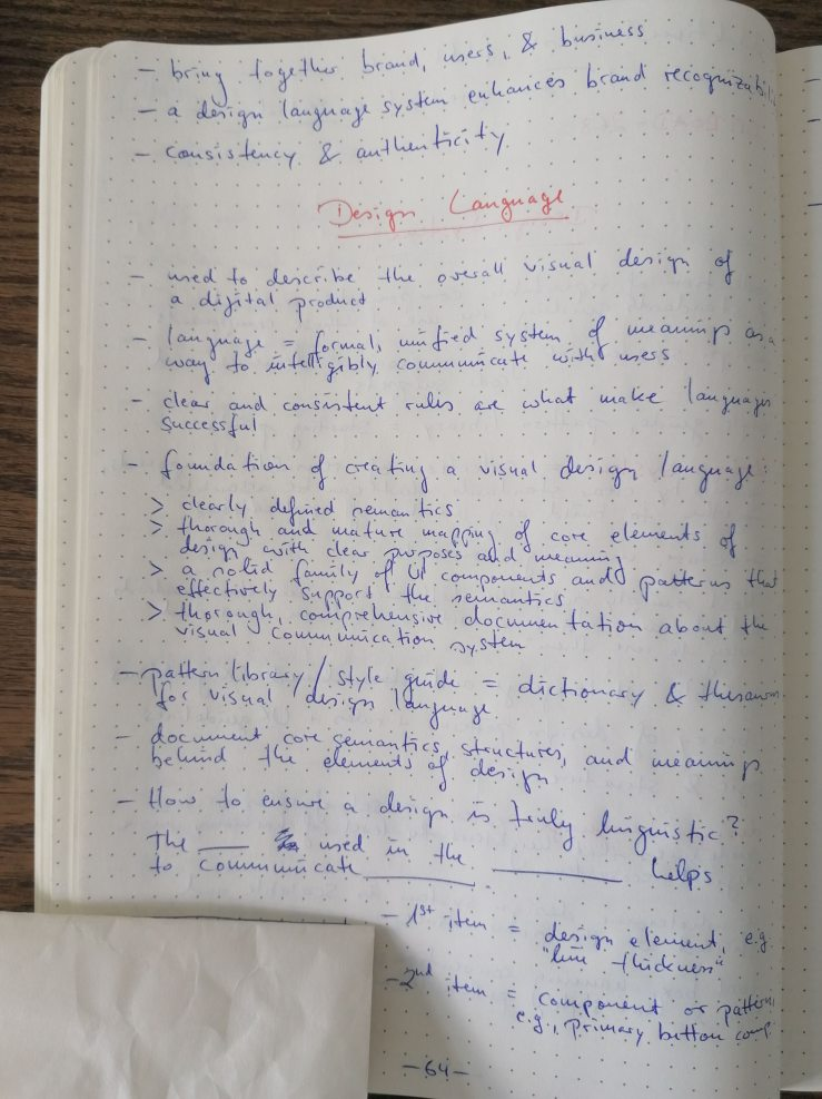 Notes on Design Systems/Languages - Page 2
